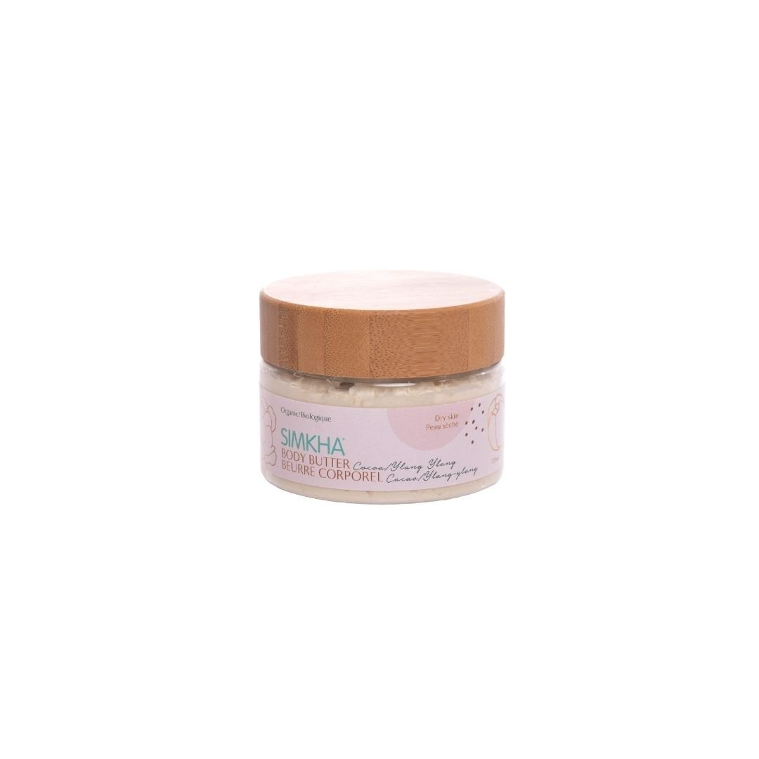 Cocoa butter moisturizing body hair butter